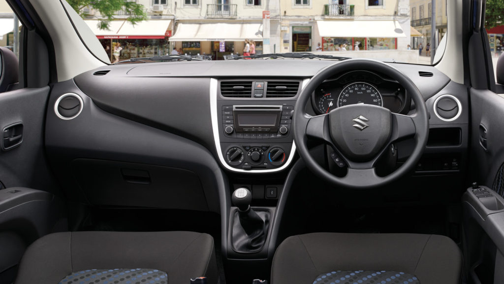 Celerio Interior Dashboard-2017