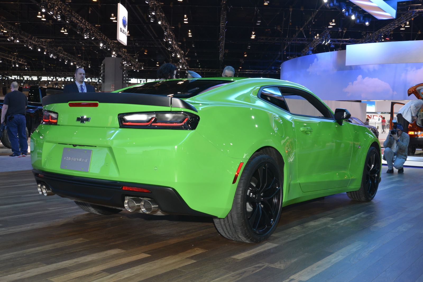 Chevrolet Camaro V 6 2017 1le And Ss 1le Street And Track