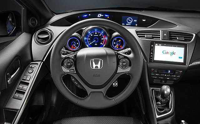 2017-Honda-Civic-Hybrid-interior-Fully-loaded-car