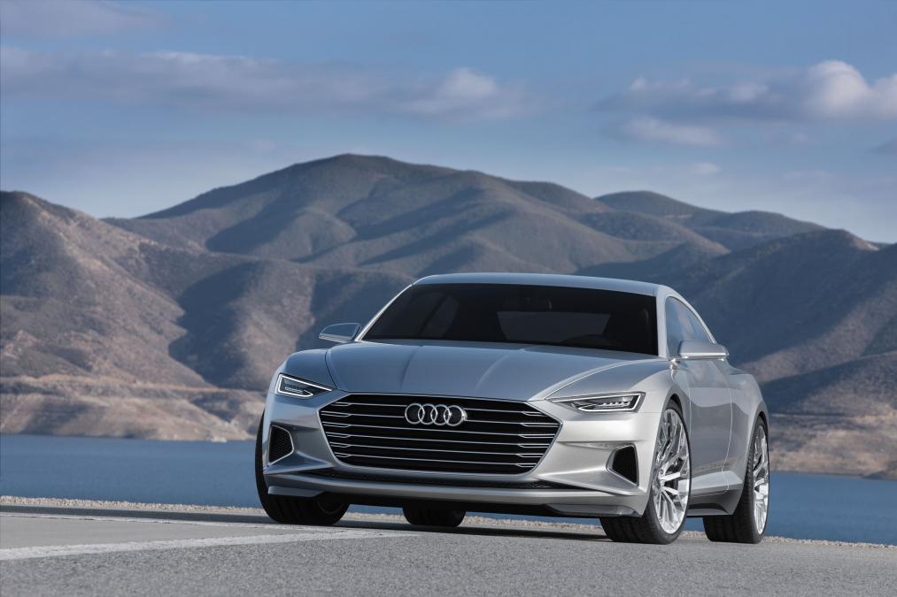 Audi A8 UK-2017