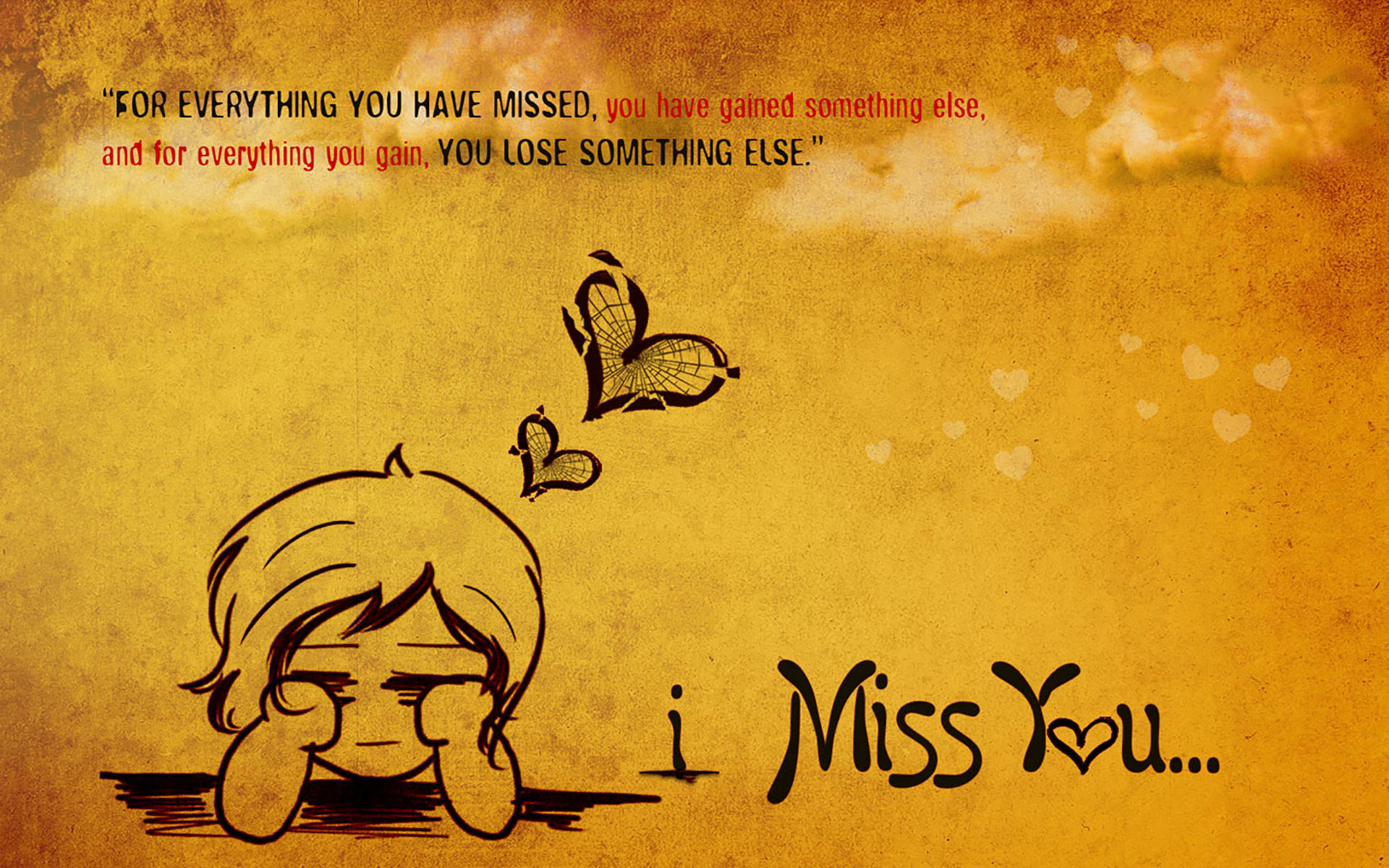 I Miss You Wallpapers & Quotes| - 9to5 Car Wallpapers