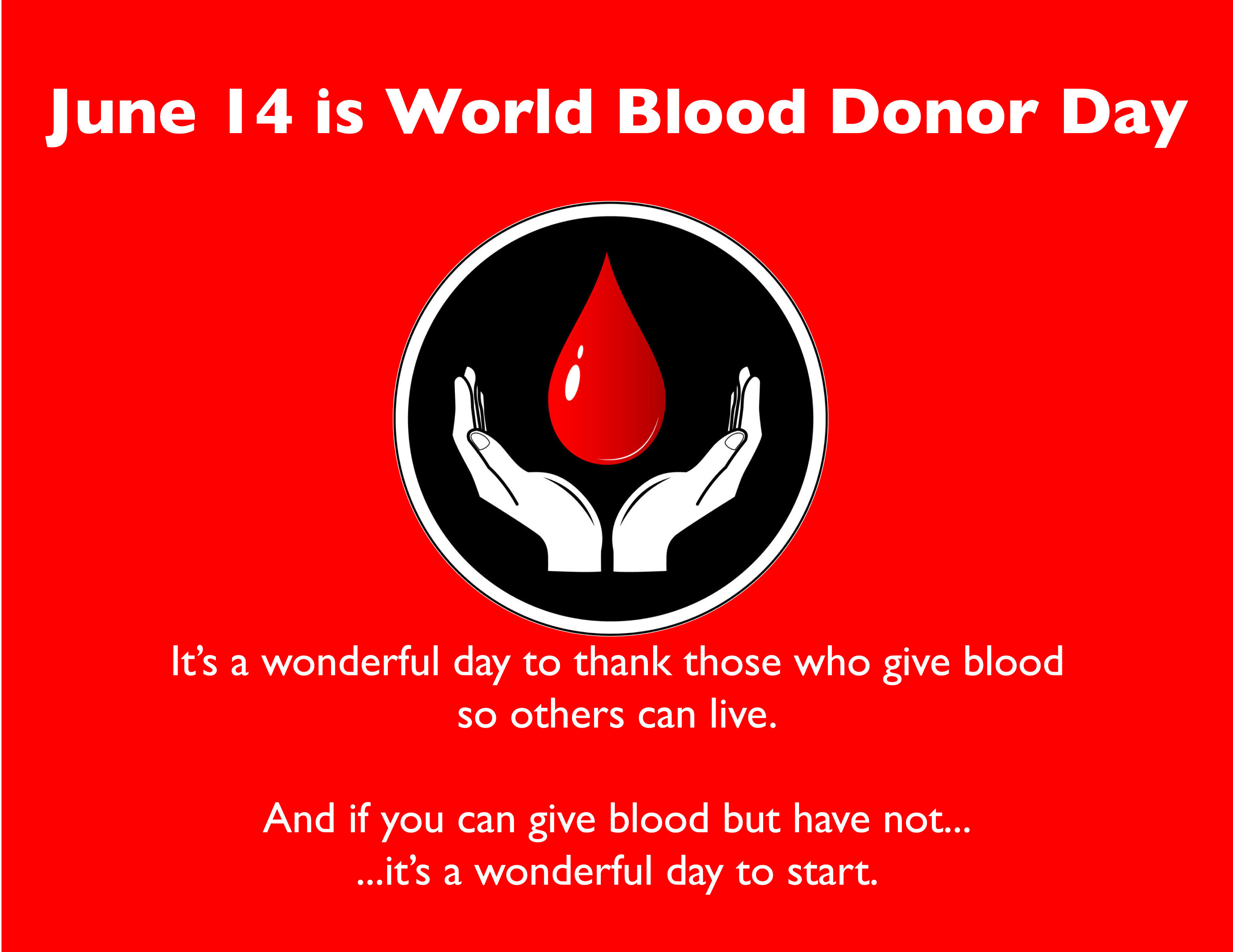 blood donation around the world Blood donation around the world blood donation around the world 1932 words jan 26th, 2018 8 pages without blood, the human body would stop working blood is fluid of life and health for each individual body every single drop of blood contains millions of red blood cells which functions as transporting oxygen to all parts of the body.