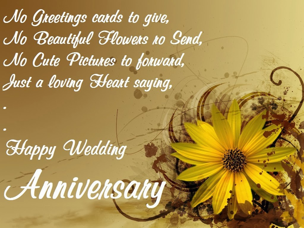On Your First Wedding Anniversary I Wish This That Life May Always Bloom In Bliss Happy