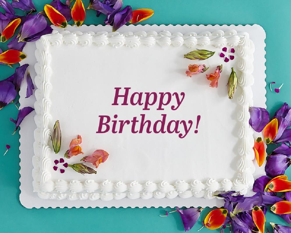 Happy Birthday Mercedes Cake