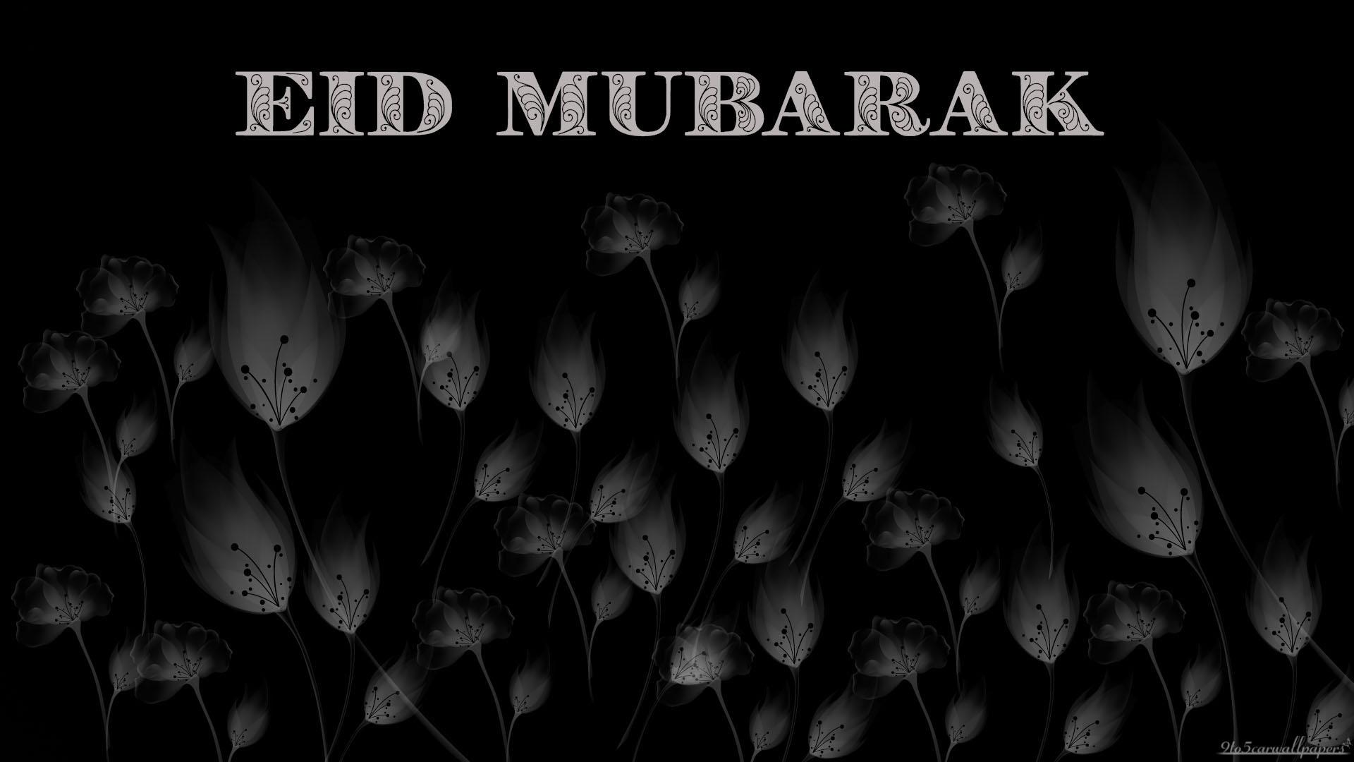 black-grey-eid-card