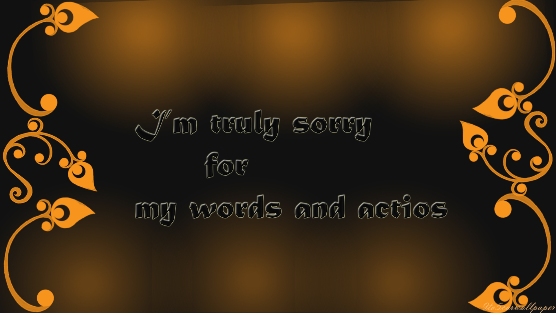 Apology Word Quotes Im Sorry Images