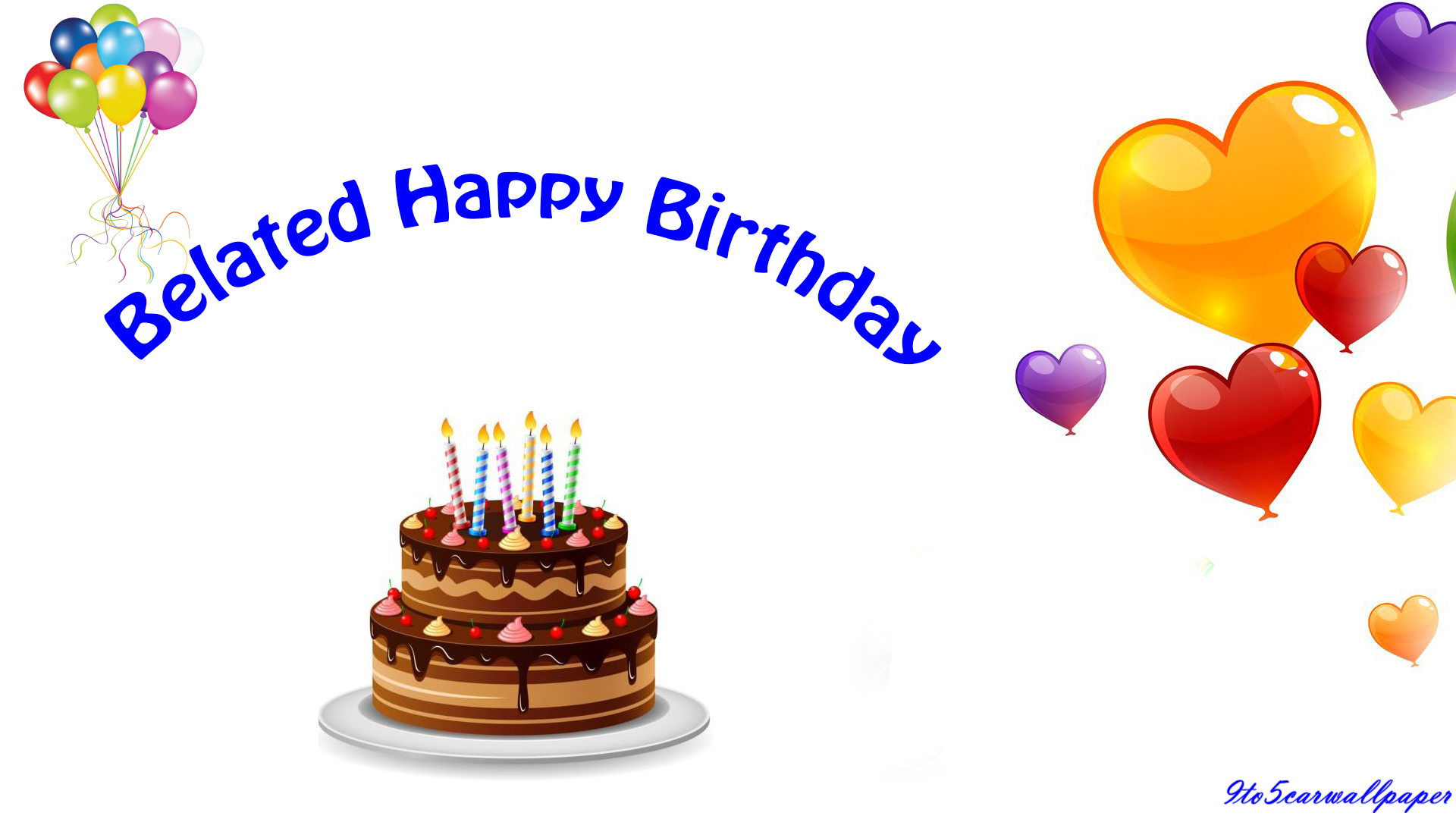 Belated Happy Birthday Quotes Images and Wallpapers - My Site