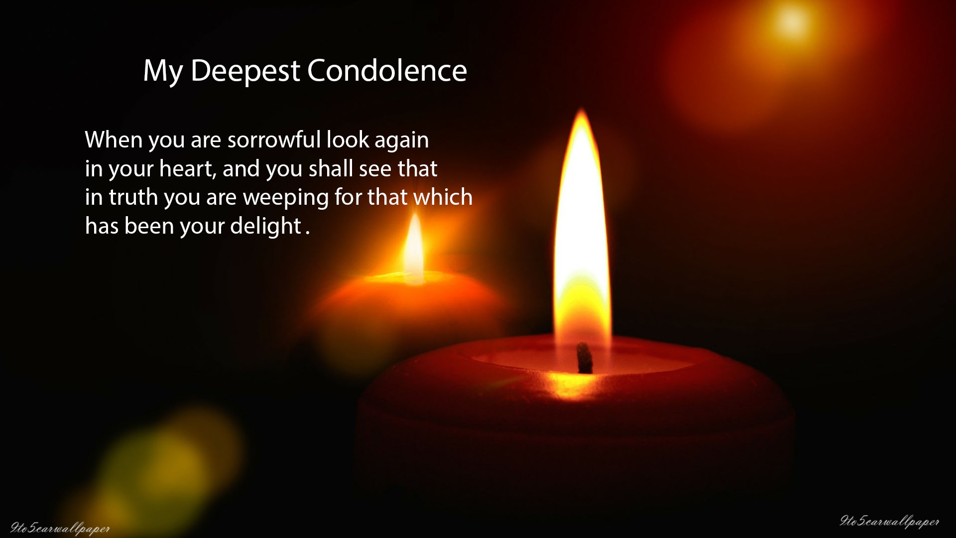 Condolence Sad Quotes Images and Wallpapers - My Site