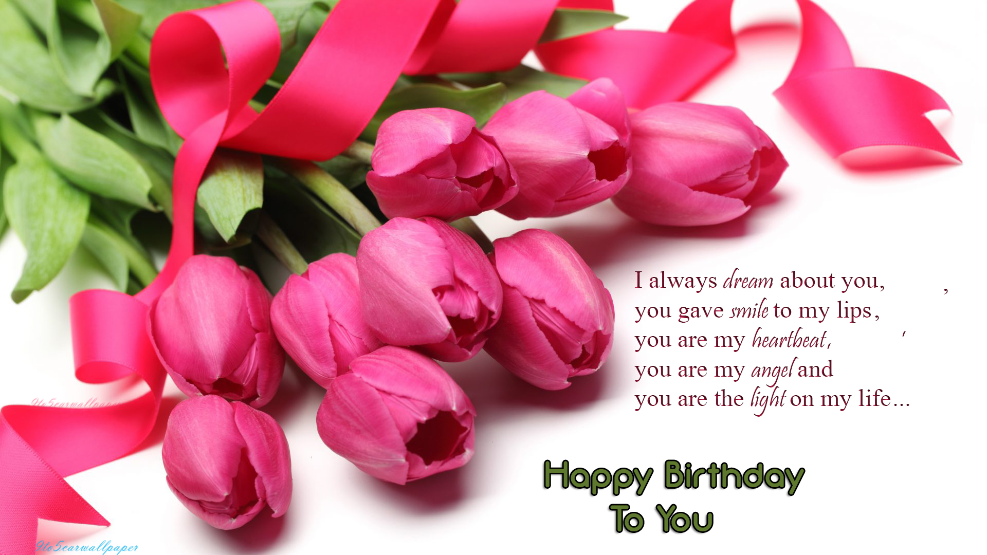 Happy Birthday My Love Quotes Wallpapers