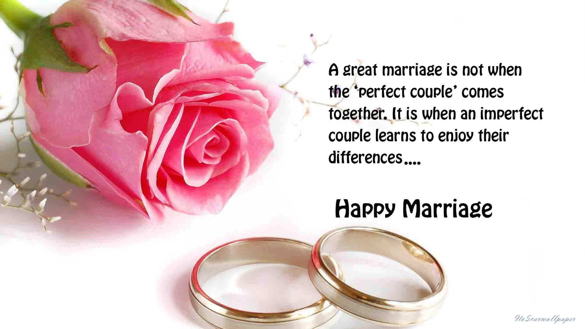 Happy Marriage Quotes Wishes Wallpapers 2017