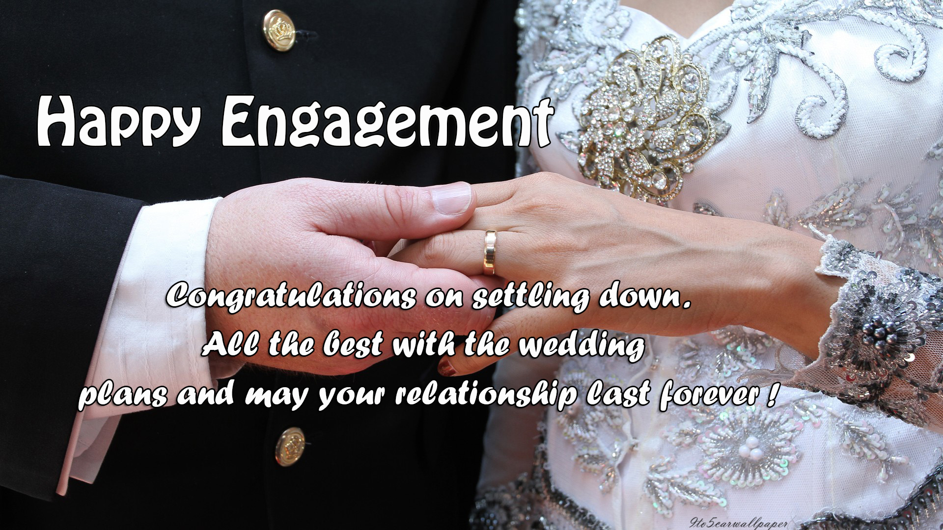 Happy Engagement | Congratulations on Engagement