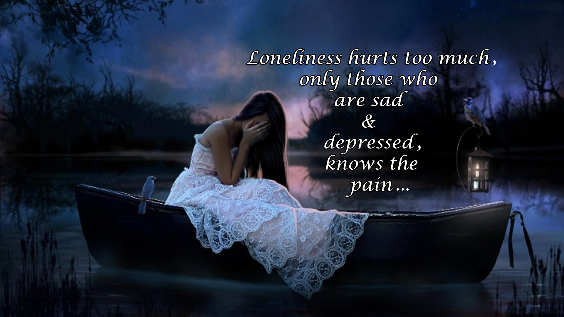 Loneliness Prevails Sadness Quotes Images Amp Hd Wallpapers
