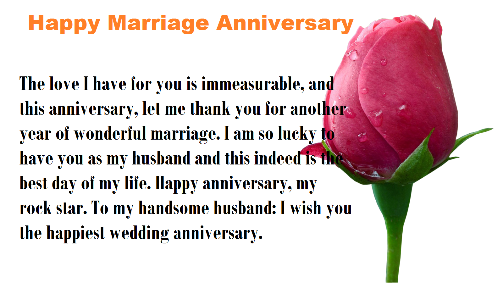 Happy Marriage Anniversary Wishesquotes Wallpaper My Site