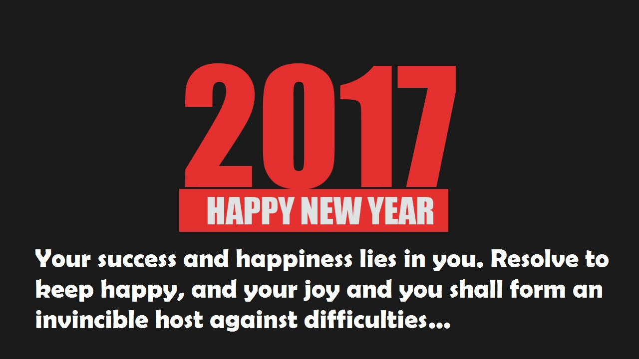 happy new year 2018 wishes quotes wallpapers