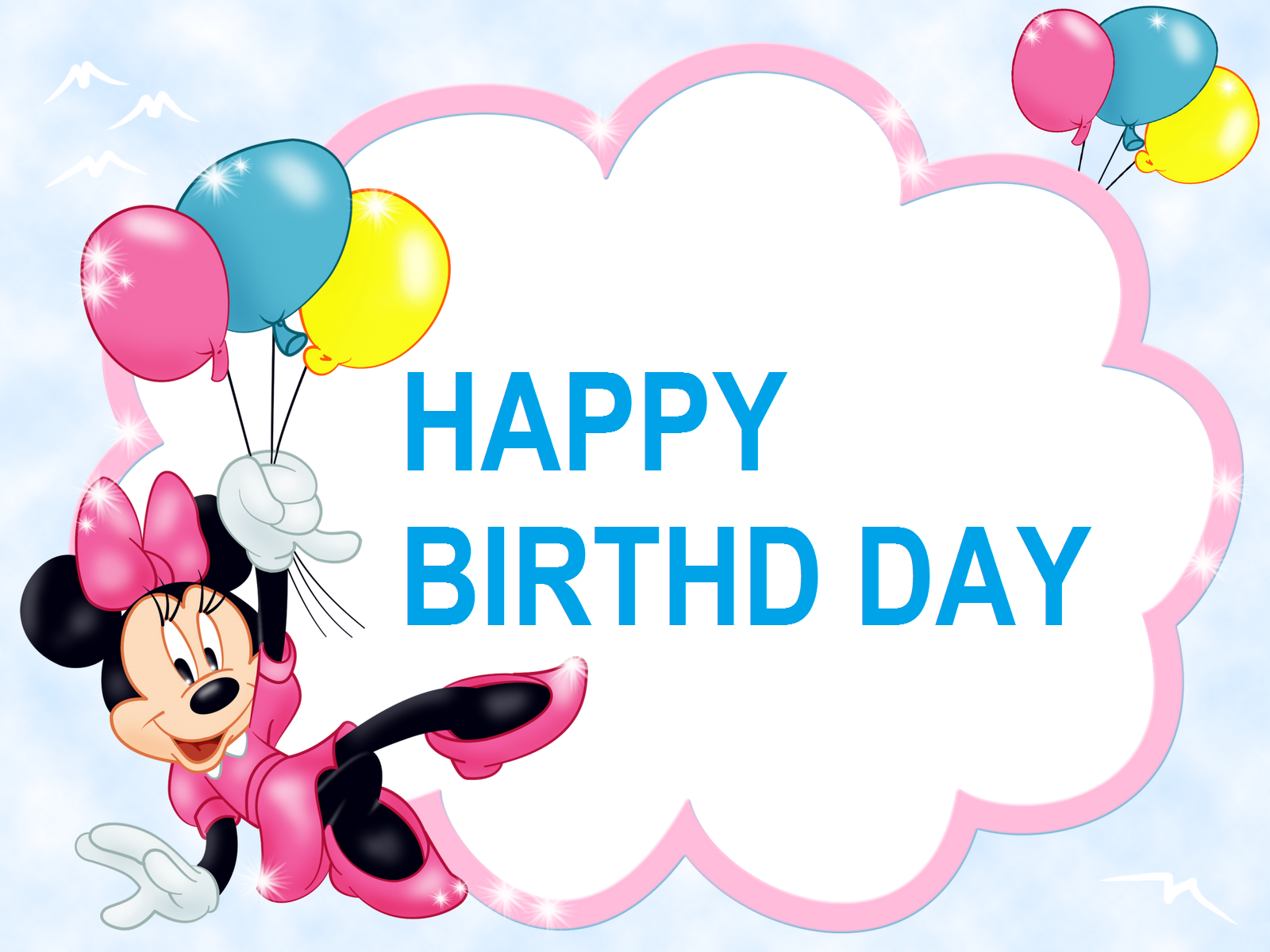 Kids_Transparent_Frame_with_Minnie_Mouse_and_Balloons-Birthday-Images