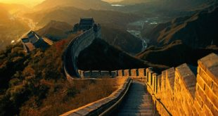 Full-Image-of-Great-Wall-of-China-Night-view