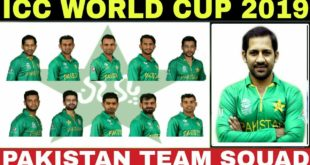 Pakistan-Players-List-ICC-World-Cup-2019