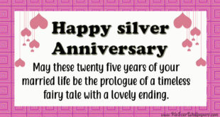 25th-Anniversary-for-parents-images