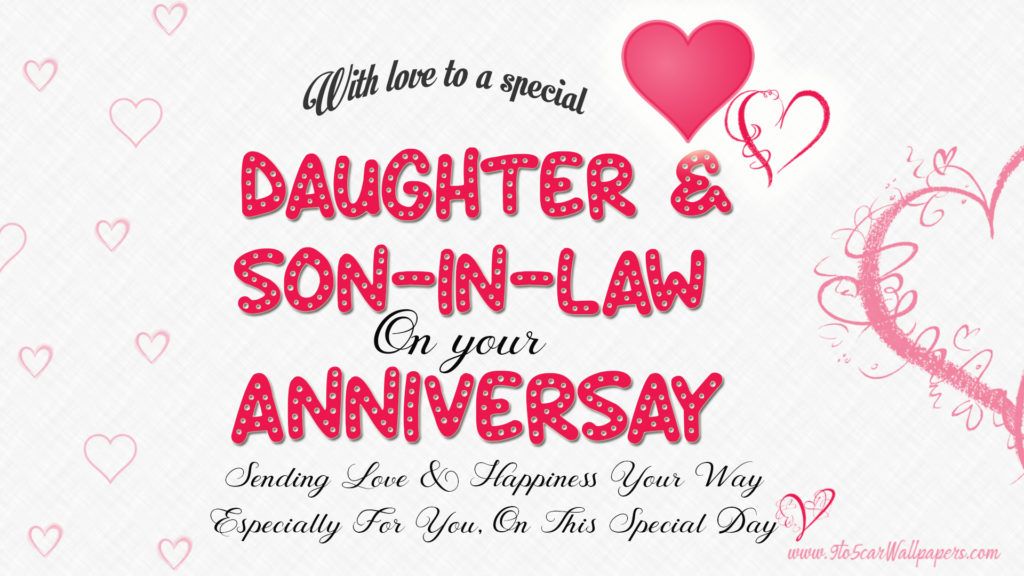 daughter-&-son-in-law-anniversary-wishes