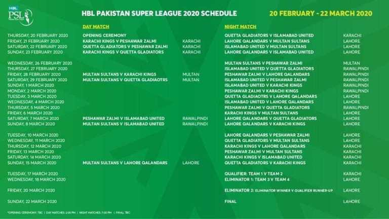 PSL-2020-match-times-download